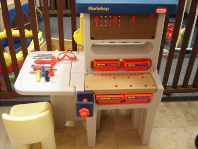 Little Tikes Work Bench Tools Work Shop Chair Ebay