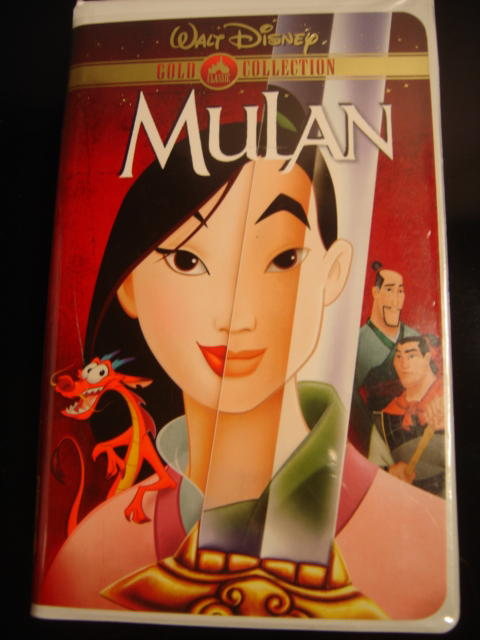 mulan vhs Book Covers