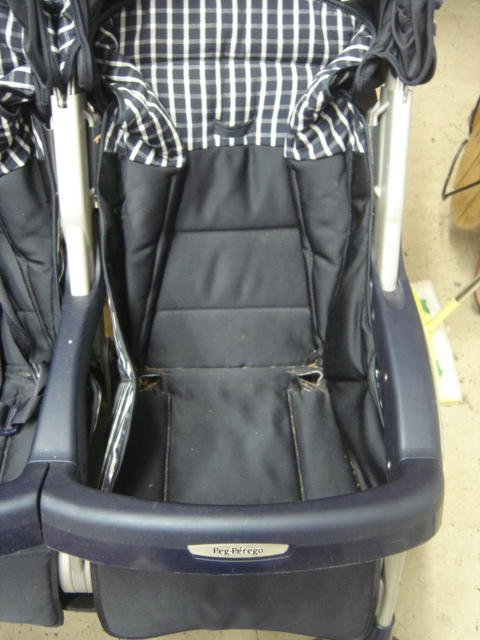 peg perego aria twin stroller replacement seat part ebay. Black Bedroom Furniture Sets. Home Design Ideas