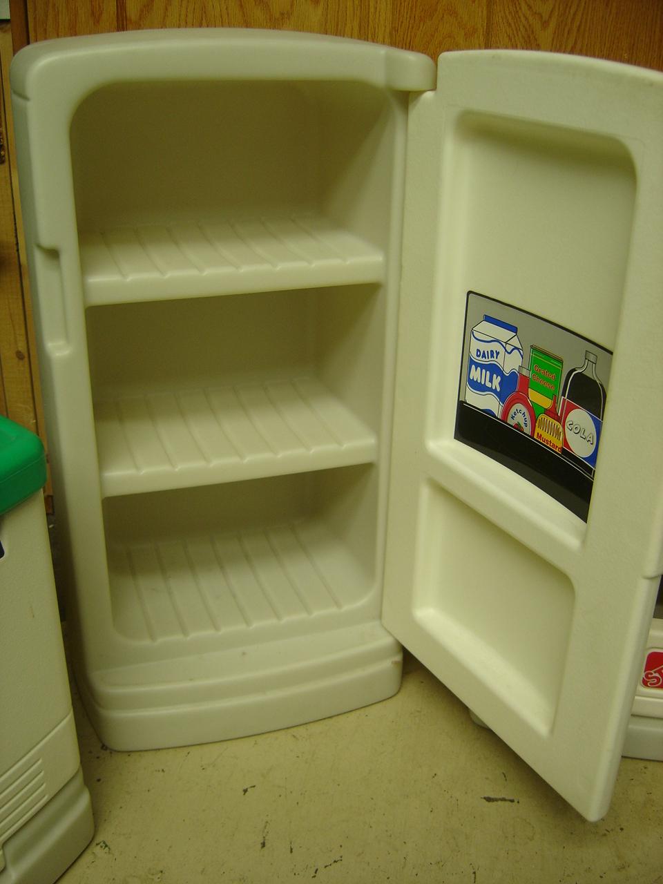Click Image To Find More Men S Fashion: Step 2 Vintage Toddler Kitchen Set Refrigerator Stove Oven