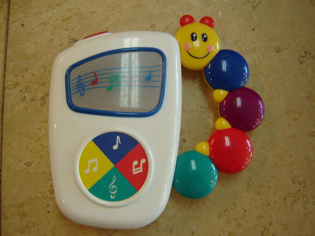 Baby Einstein Musical Toys : Baby einstein musical handheld radio toy rattle ebay
