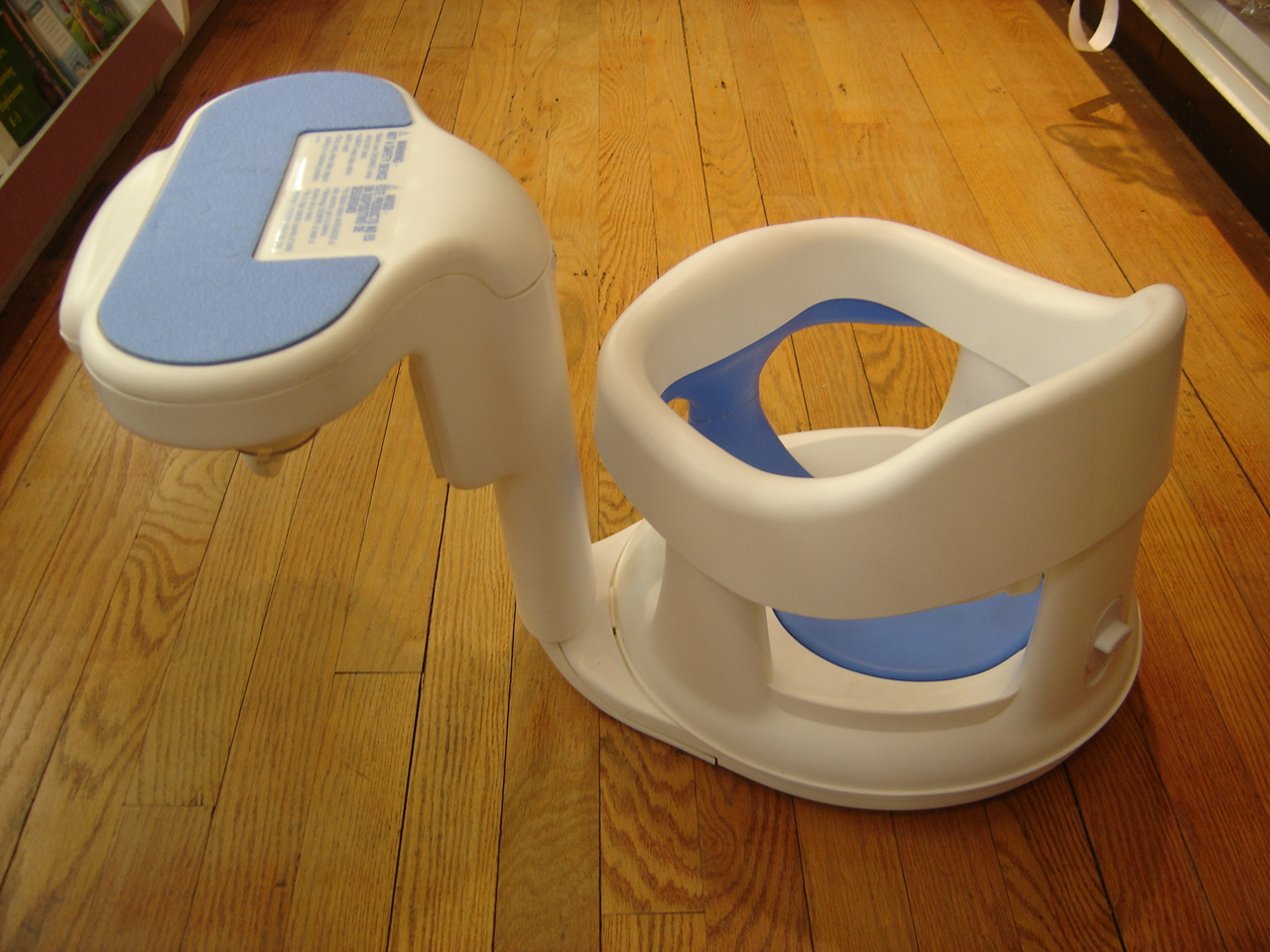 Safety 1st Infant Baby Bath Seat Tubside Swivel Ring EBay