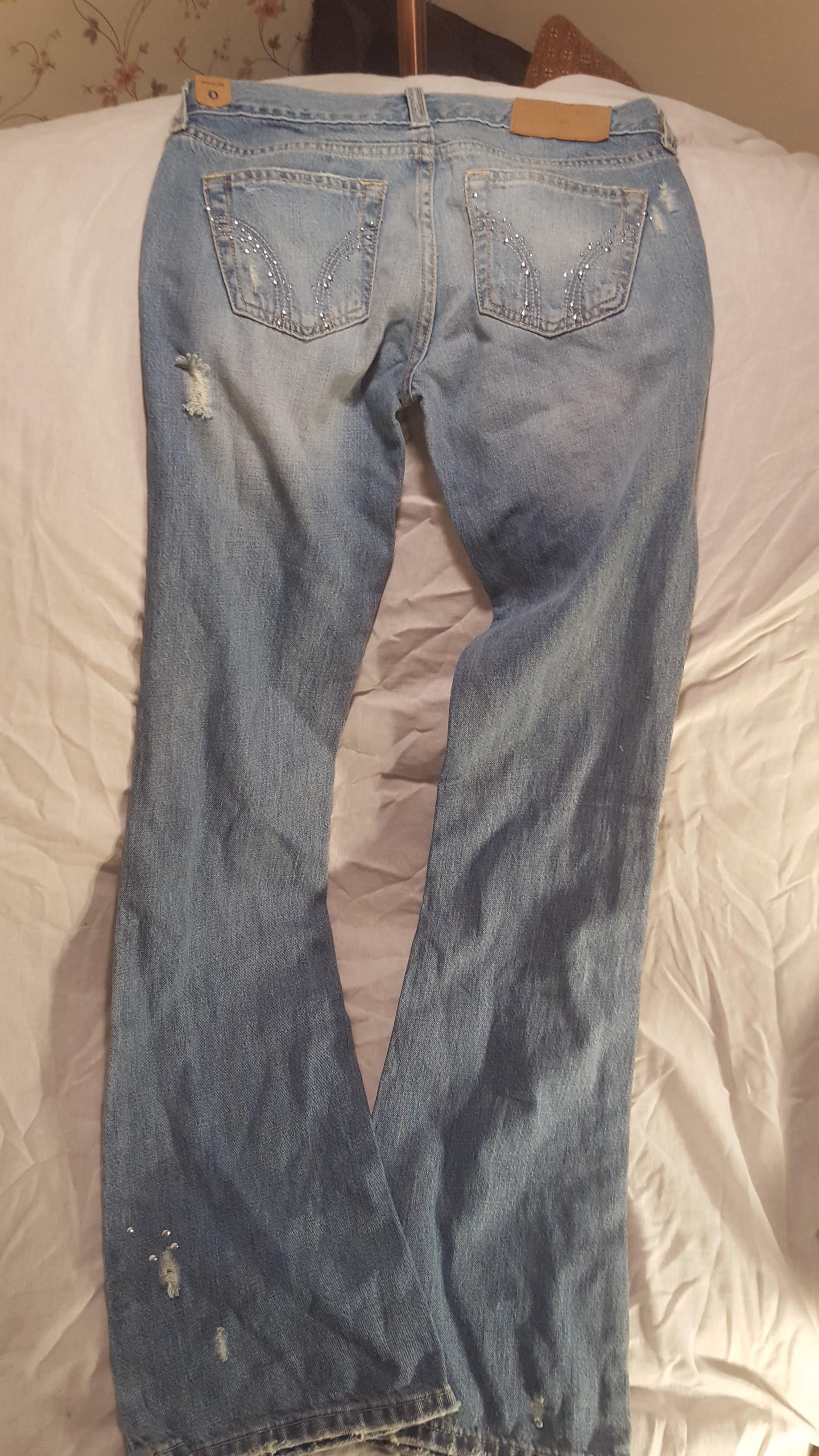 Hollister Sz Jr 0 Jeans Women Junior Girl Teen Denim ...