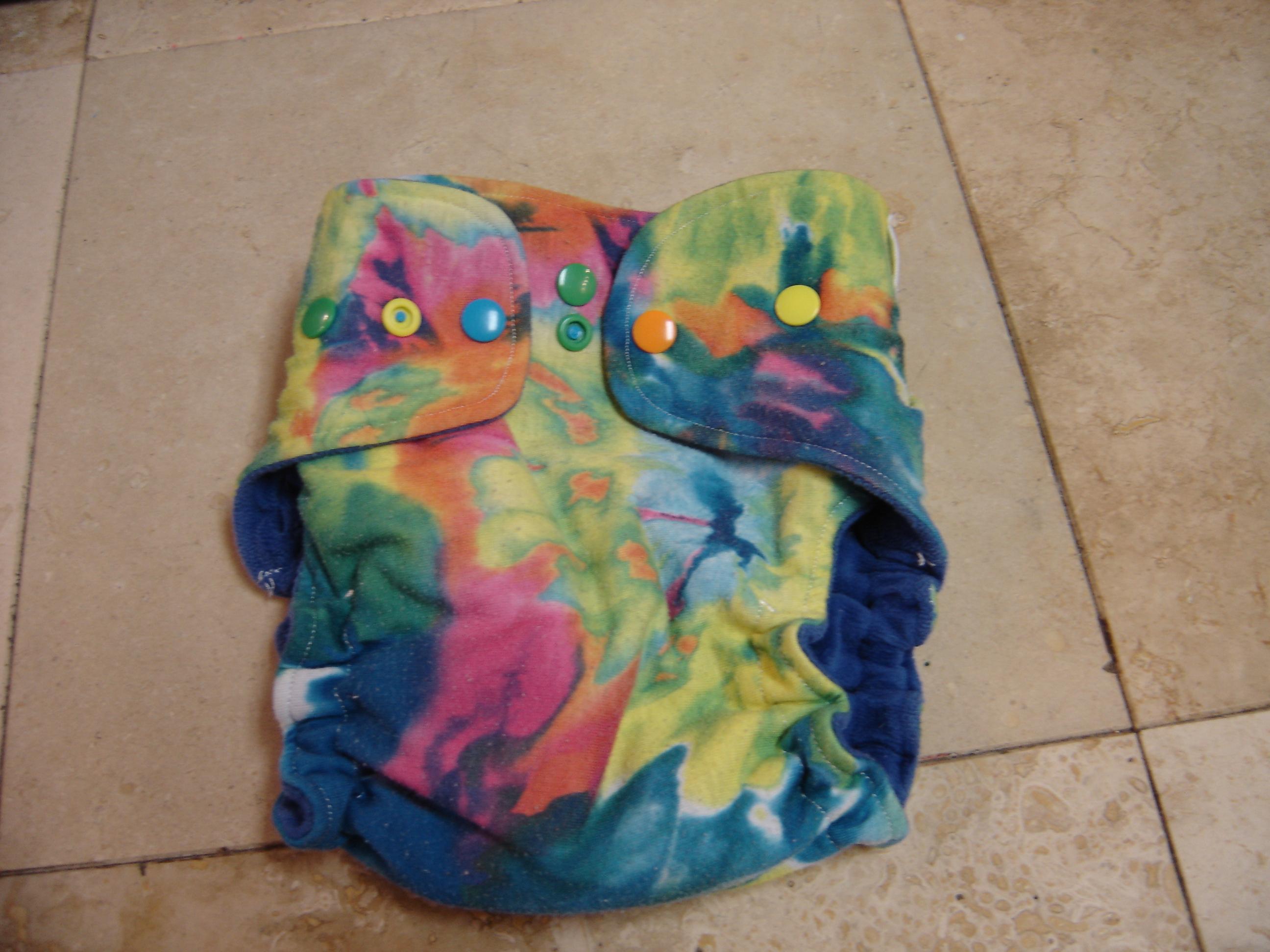 Fancy Fanny S Pocket Diapers Tye Dye Print