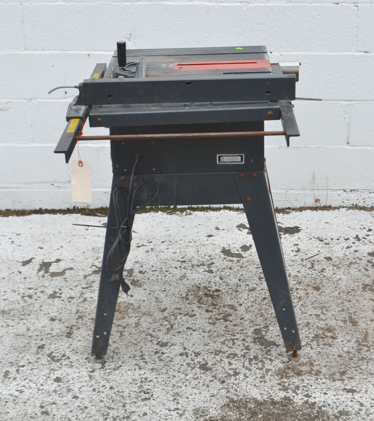 Craftsman 10 inch table saw model 3758 39 ebay for 10 craftsman table saw parts
