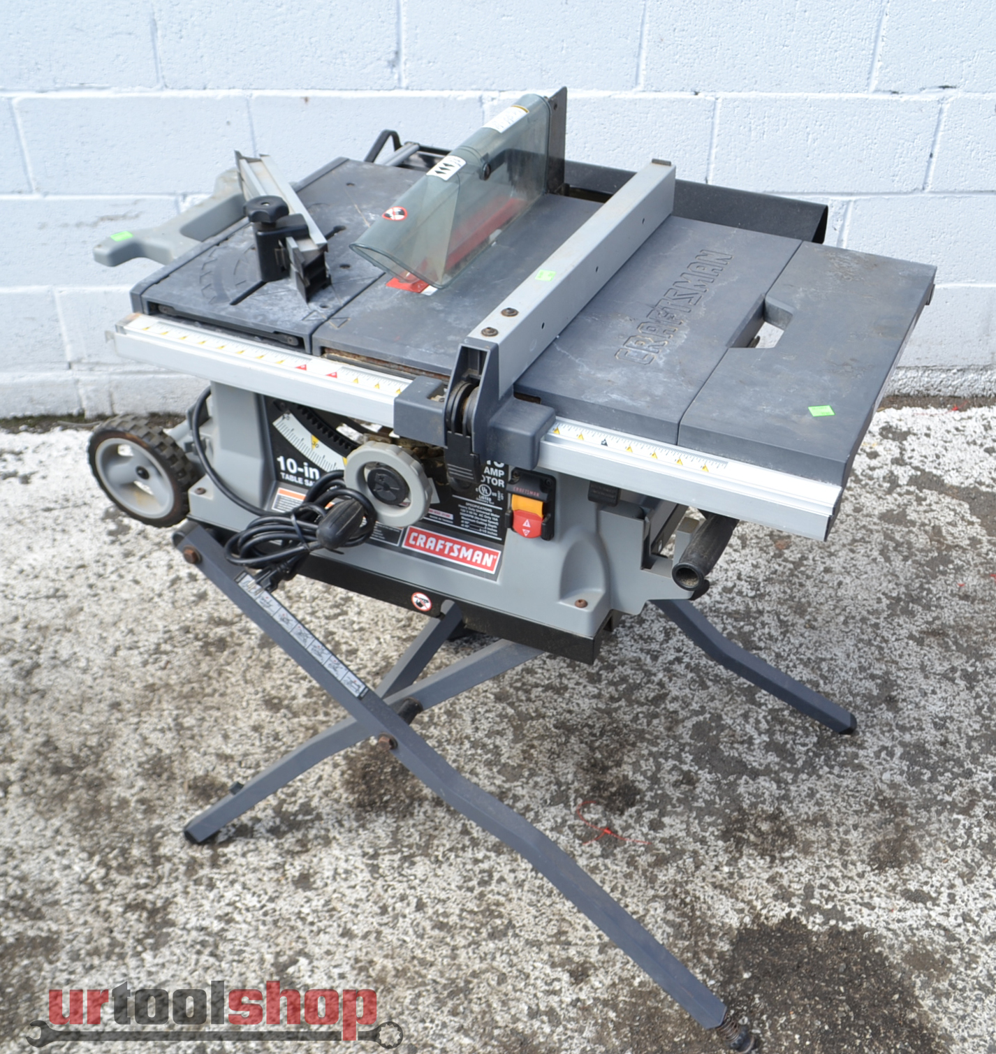 Craftsman 10 Inch Portable Table Saw Model 9549 1 Ebay