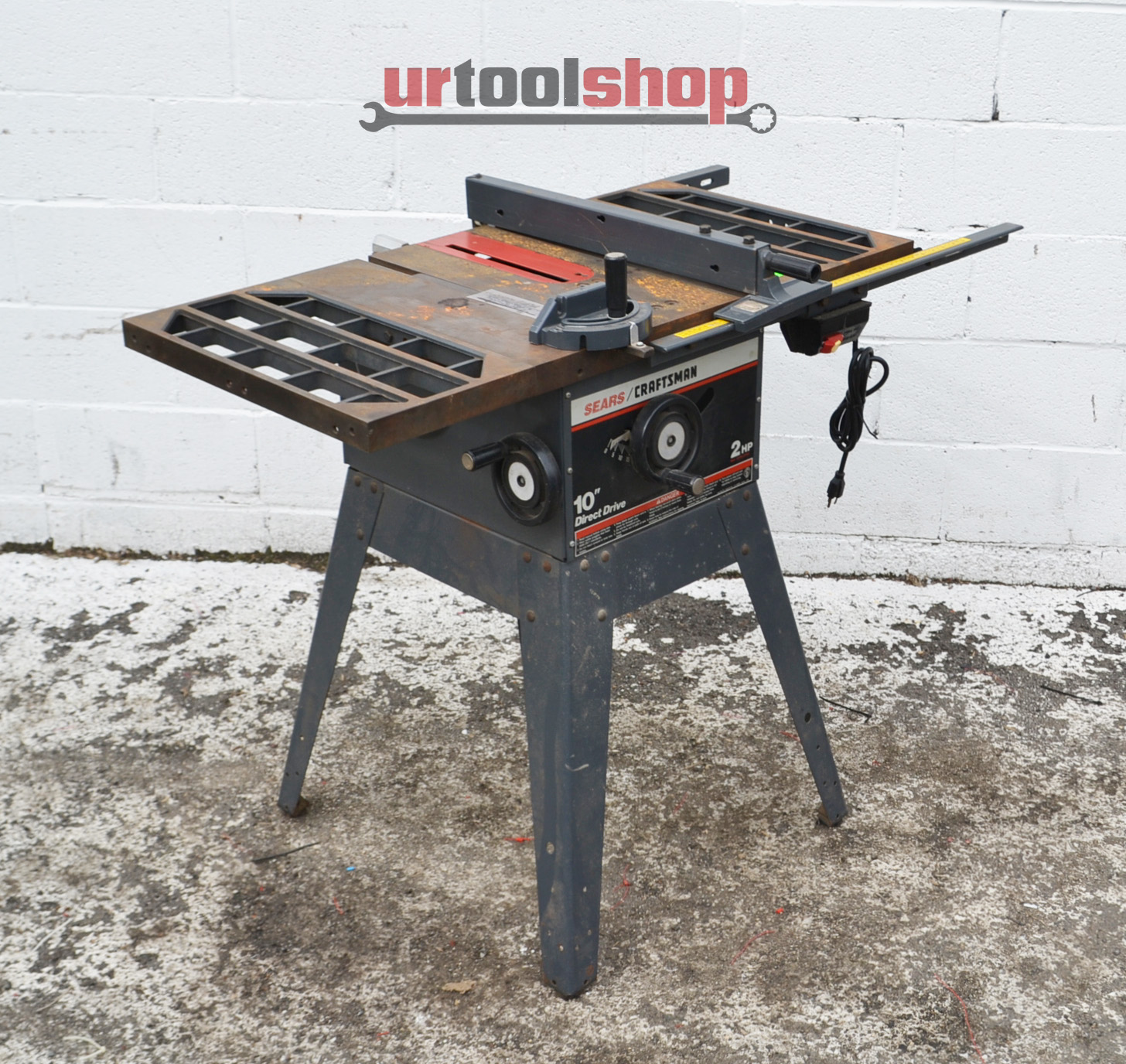 Craftsman 10 direct drive table saw 2986 4 ebay for 10 in table saw craftsman