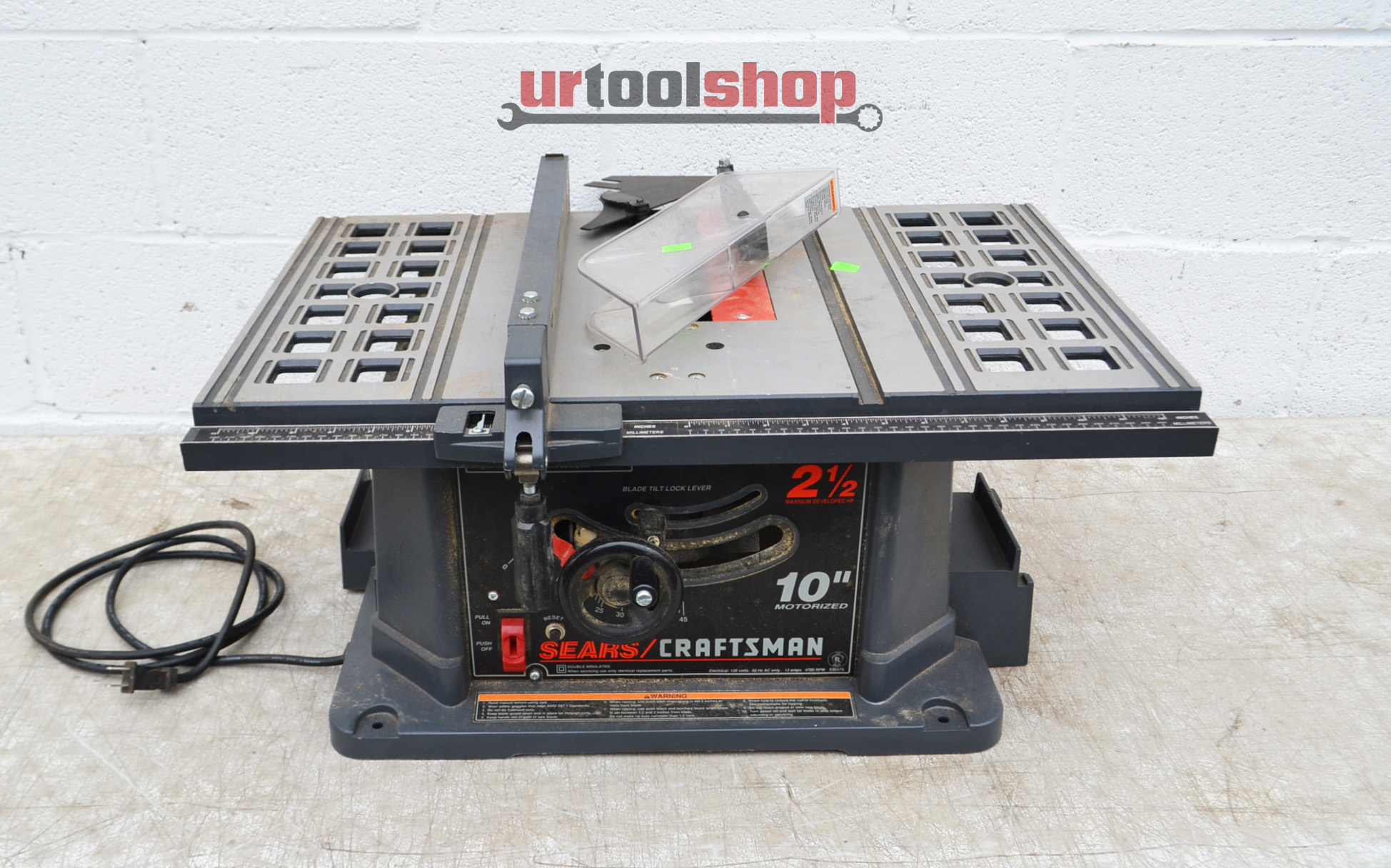 Sears Craftsman 10 Portable Table Saw Pictures To Pin On Pinterest Thepinsta