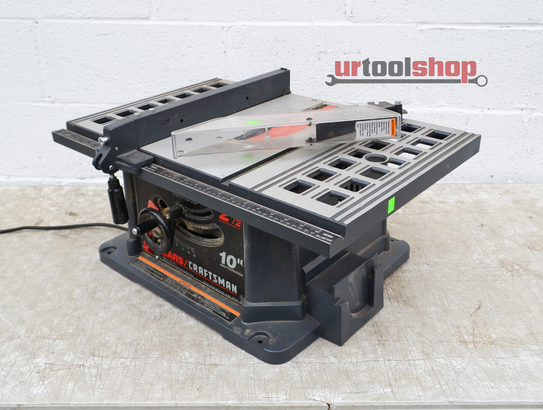 Sears Craftsman 10 Portable Table Saw 2643 132 Ebay