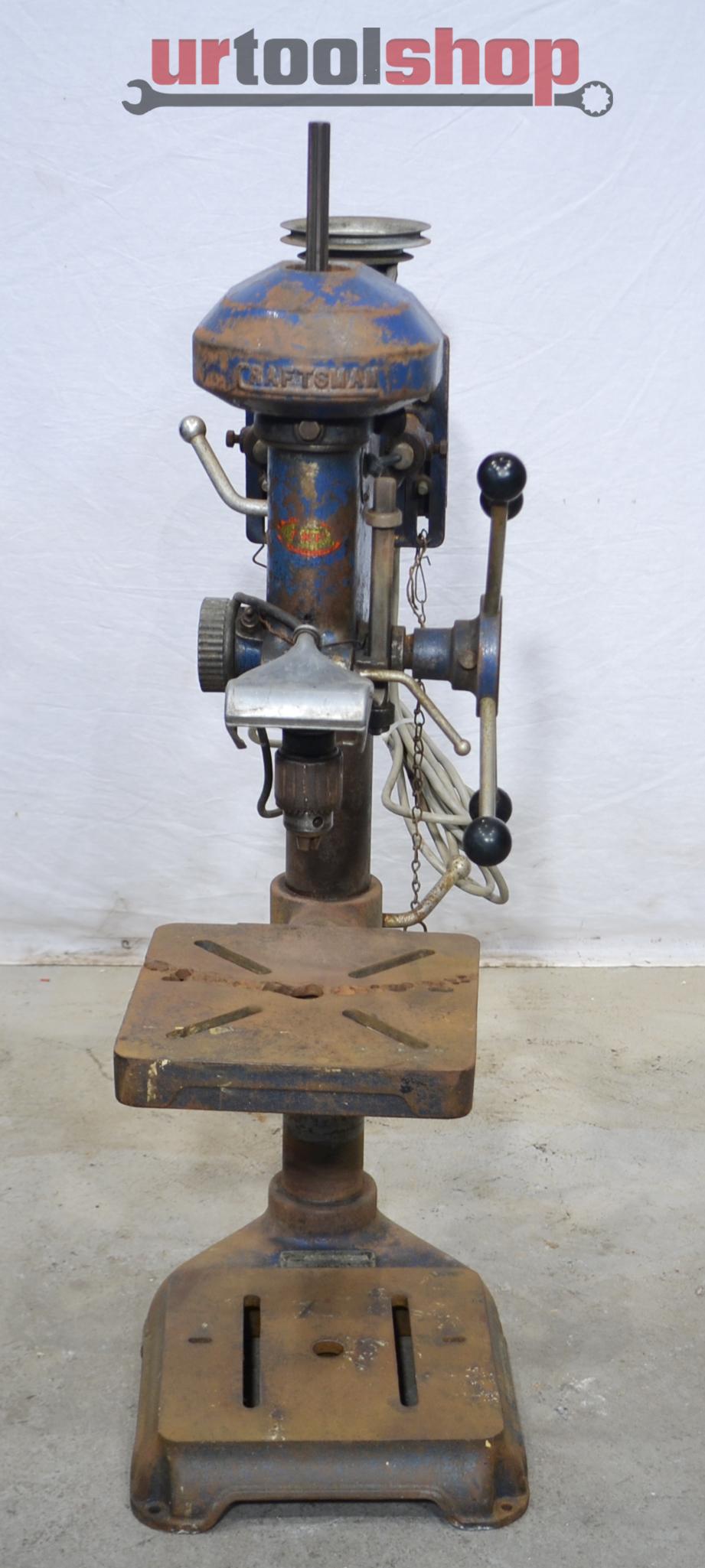 vintage craftsman bench drill press model 101 03622 9414 2