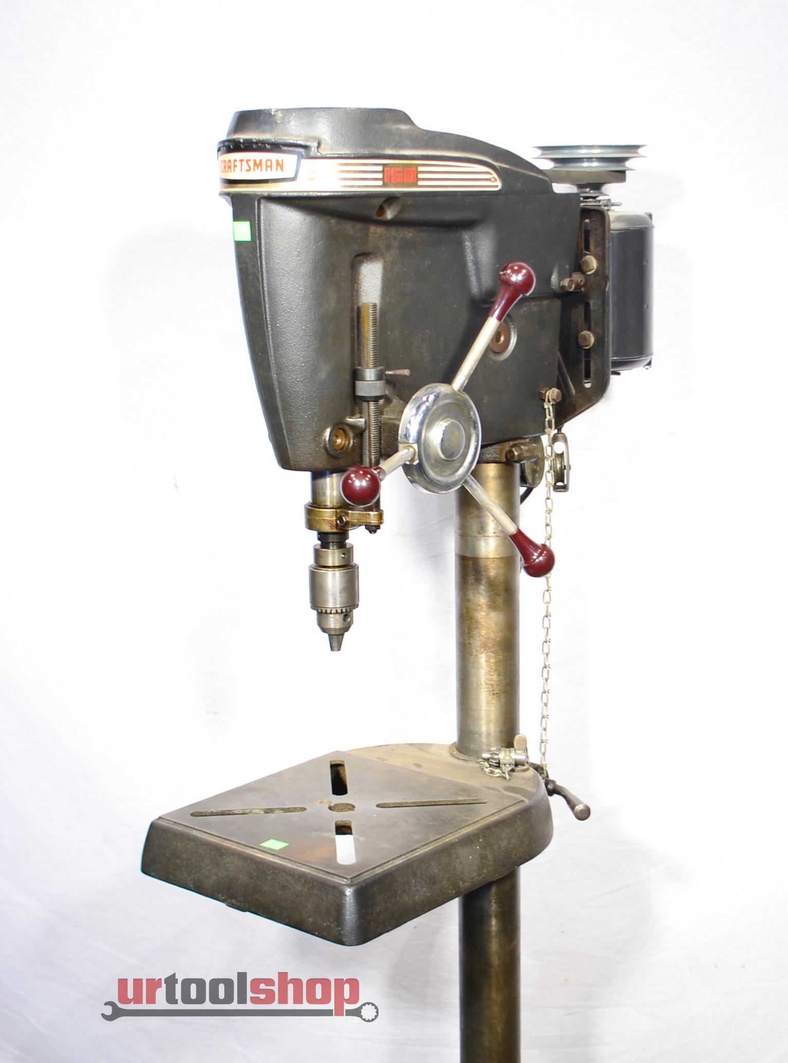 Vintage Sears Craftsman 150 Floor Drill Press 113 24511 923 3 Ebay