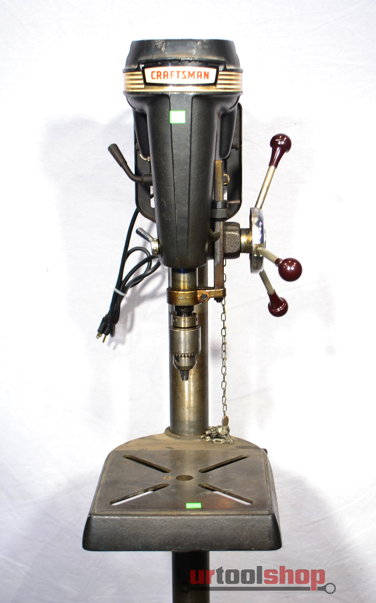 Vintage sears craftsman 150 floor drill press for Craftsman flooring
