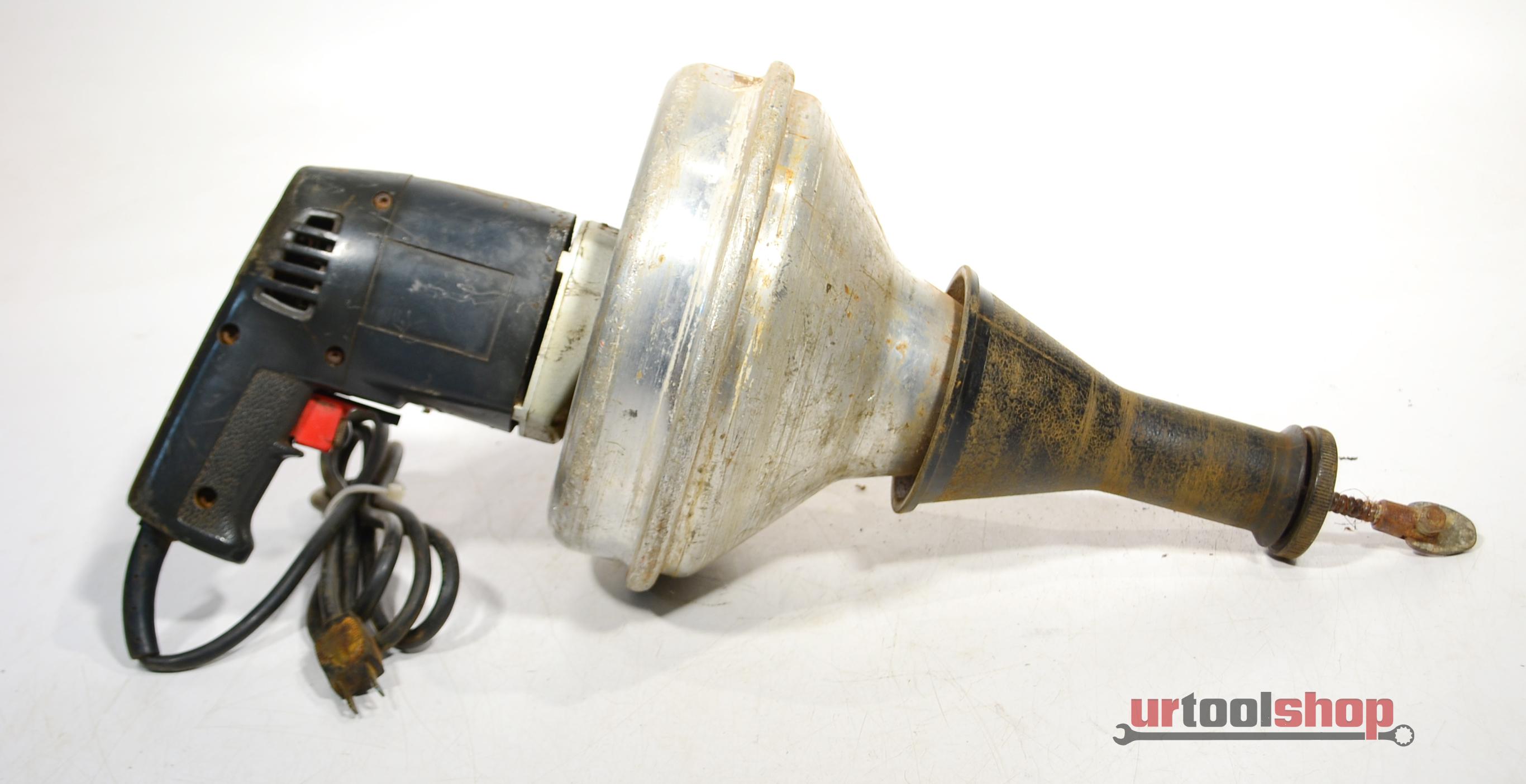 Ridgid Kollmann Hand Held Electric Drain Cleaner Sewer