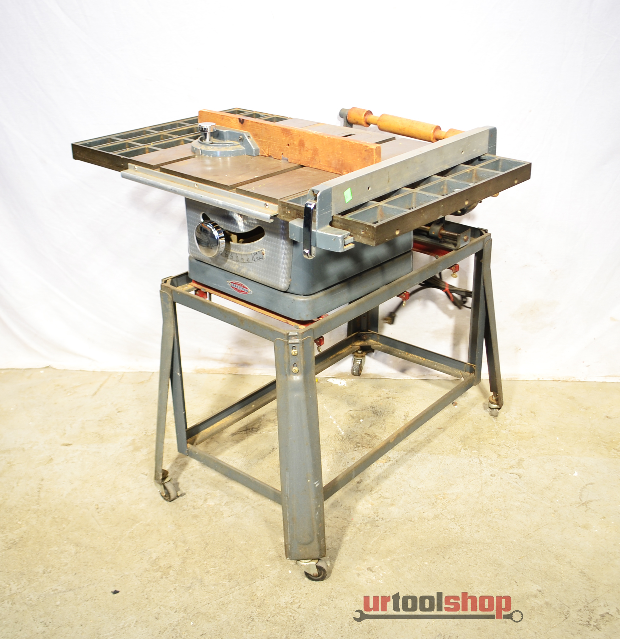Vintage Sears Craftsman 8 Tilting Arbor Bench Table Saw 3367 5 Ebay