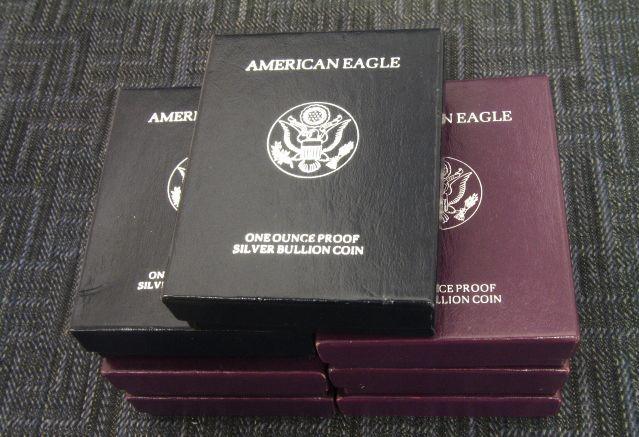American Eagle Silver Dollar 1990 American Eagle Silver