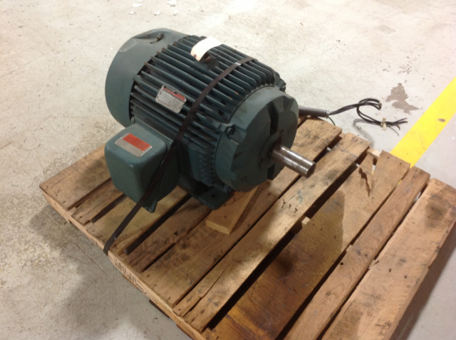 Reliance Electric 01mlf84622 Ac Motor 324t Frame 40 Hp