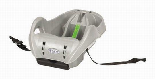graco snugride infant car seat base silver 8402l04 ebay. Black Bedroom Furniture Sets. Home Design Ideas