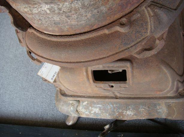 Howard Rex Antique Pot Belly Stove Vintage Wood Cast Iron Rustic